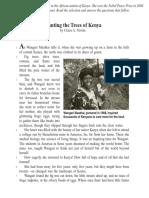 Planting the Trees of Kenia