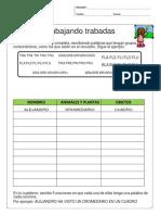 Trabajando Trabadas Vocabulario Uso Del Diccionario y Escritura Creativa en Una Sola Actividad Editable