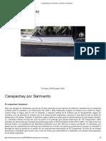 Carapachay Por Sarmiento – Revista Carapachay