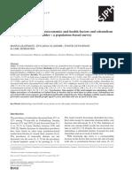 Association Between Socioeconomic and Health Factors