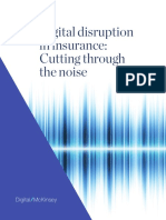 Digital Disruption in Insurance