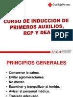 Curso de Inducción de Primeros Auxilios, Rcp y Dea - Cruz Roja Peruana (1)