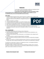 Reglamento y Criterios de Evaluación