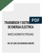 Transmision y Distribucion Secion 1