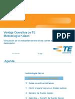 PC 120 Rev G Kaizen Methodology Spanish MX