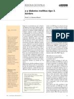 Microalbuminuria y diabetes mellitus tipo 2.