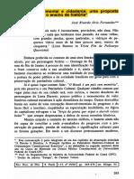 Educação Patrimonial e Cidadania - FERNANDES, Jose Ricardo