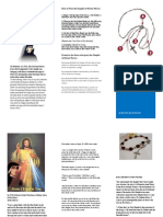 Chaplet of Divine Mercy Brochure