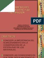 Almacenamiento Del Material Estéril y Su Distribución