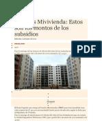 Créditos Mivivienda