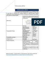 Disolventes Fluorados Perfluorooctano C8F18