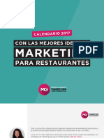 eBook Ideas de Marketing Para Restaurantes 2017