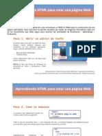 Aprendiendo HTML