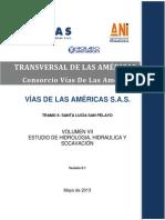 VOLUMEN VII Hidrologia, Hidraulica y Socavación SLSP V0.1