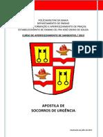 Apostila Nova CAS 2013 Socorros