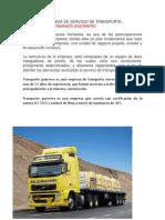 Empresa de Servicio de Transporte22