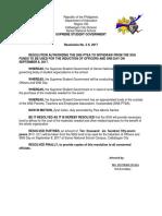 Budget Proposal P1