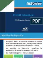 Medidas Dispersion (1)