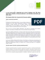 Protocolo Licencias Medicas Maternales