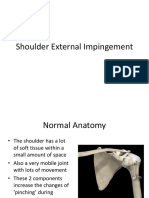 Shoulder External Impingement Handout