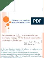 Análisis de Error Para Los Métodos Iterativos_1