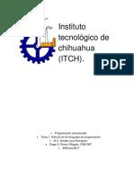 Historia de La Programación.
