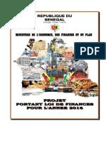 Projet de Loi de Finances 2016