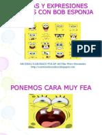 PRAXIAS Y EXPRESIONES FACIALES CON BOB ESPONJA.pps