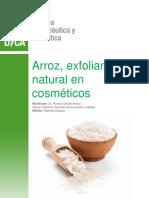 Arroz Exfoliante Natural