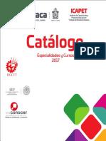 Catalogo 2017 Icapet