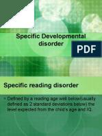 Pervasive Developmental Disorder