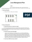 classroommanagement plan
