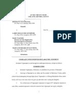 Final Complaint and Affidavit (Vignarajah v. Hogan for Governor Et Al.)