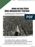 1917 o Ano Em Que Os EUA Descobriram a Europa