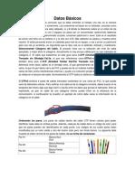 Datos Básicos Conexion Cables Utp