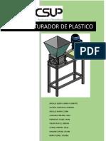 Triturador de Plastico Informe Super Final