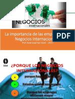 La Importancias de Los Neg y Comercio Int