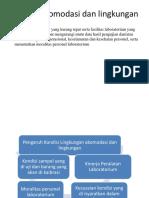 Kondisi Akomodasi Dan Lingkungan - Manajemen Lab