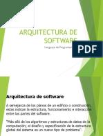 1. Arquitectura de Sistemas