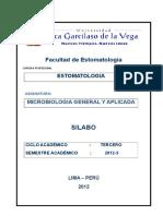 Silabo Microbiologia Gral Aplicada. Nuevo Doc