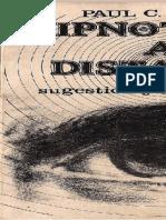 El Hipnotismo a Distancia Sugestión y Autosugestión
