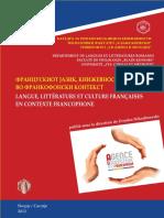 Langue, littérature et culture françaises en contexte francophone (ed. Zvonko Nikodinovski), 2012, 463 p.pdf