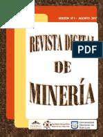 Revista Digital Mineria N1 V1_2017