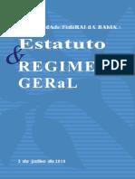 Estatuto Regimento UFBA 0