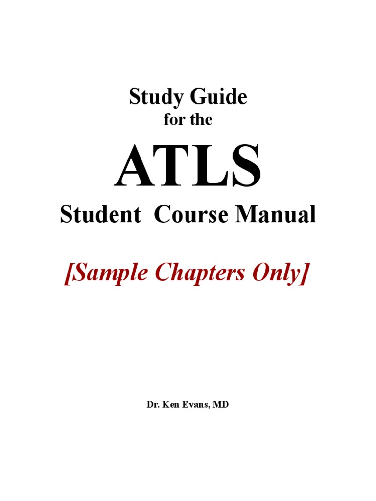 Study Guide for ATLS - Sample Chapters | Shock (Circulatory) | Traumatic  Brain Injury