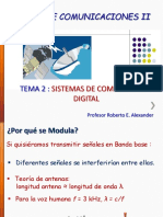 Tema 2 SCD Curso de Comunicaciones II Marzo de 2014