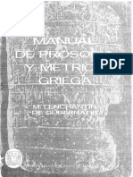 8089-Lenchantin de Gubernatis, N. - Manual de Prosodia y Metrica Griega