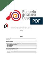 PIANOformacion Escuela de Cali Colombia