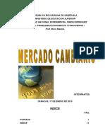 Mercado Cambiario Definitivo
