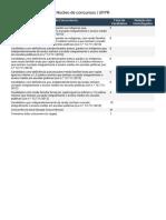Luteria Ufpr 2017-2018- Quantidade de Inscritos